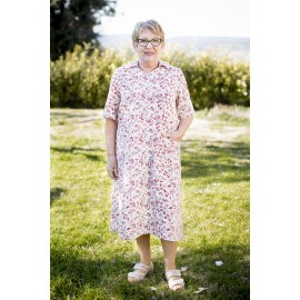 ROUSSEROLE ROBE MEDICALISEE MANCHES COURTES