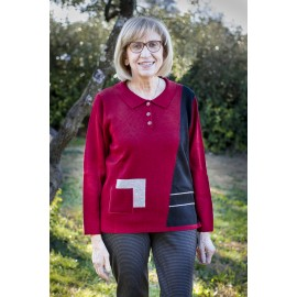 POLLY PULL CHAUD COL POLO