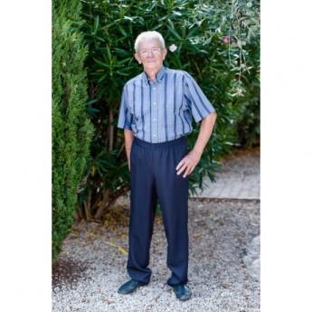 pantalon homme taille elastique senior