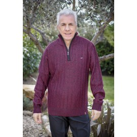 PASCAL PULL COL MONTANT ZIPPE
