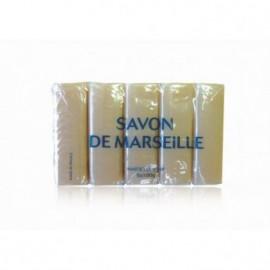 LOT DE 5 SAVONS DE MARSEILLE   5X100 G