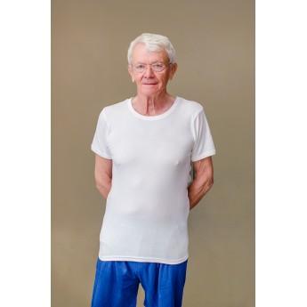 Lot de 3 tricots de corps manches courtes Blanc