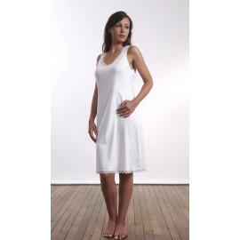 Fond de robe chaude Blanc