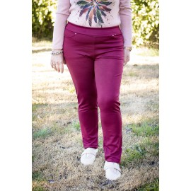 CALECON LEGGING BORDEAUX